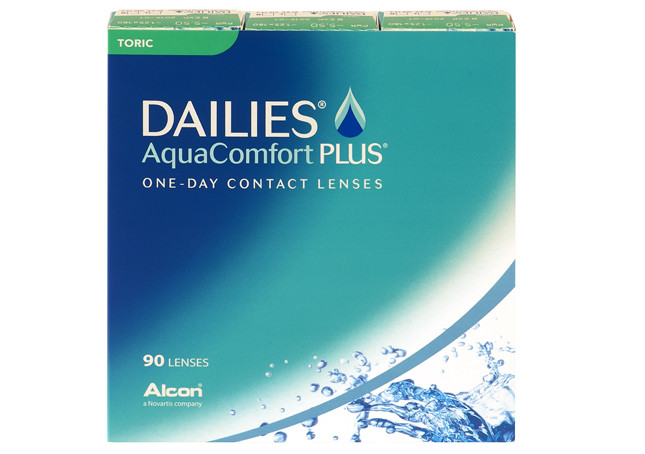 Dailies Aqua Comfort Plus Toric 90