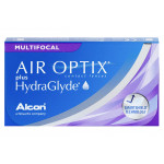 Air Optix Plus Hydraglyde Multifocal (3 lentilles)