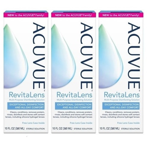 Acuvue Revitalens 3x360ml (Complete Revitalens 3x360ml)